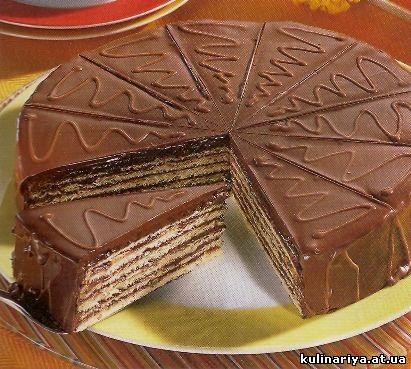 В русский язык термин торт пришел из